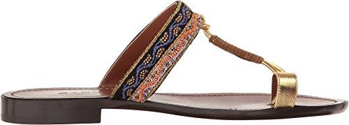 Sandalo Da Donna Con Cinturino In Oro