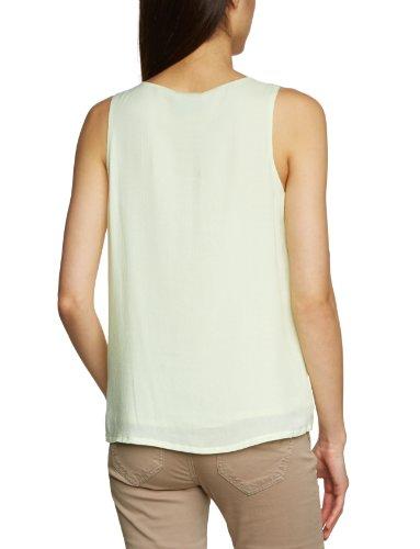 Selected - Camiseta sin mangas para mujer Verde (Lime Cream)