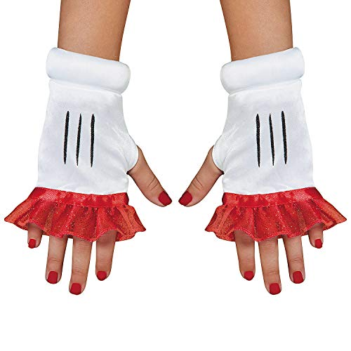 (Fun Express - Red Minnie Child Glovettes for Halloween - Apparel Accessories - Costume Accessories - Costume Kits - Halloween - 1 Piece)