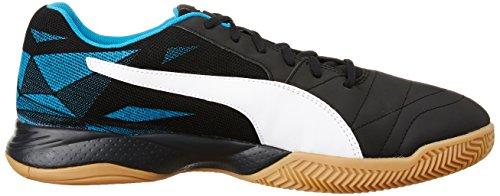Puma Black Puma Fußballschuhe Danube blue Erwachsene Indoor puma Unisex Iii Veloz 04 Schwarz White 8Zw8rB
