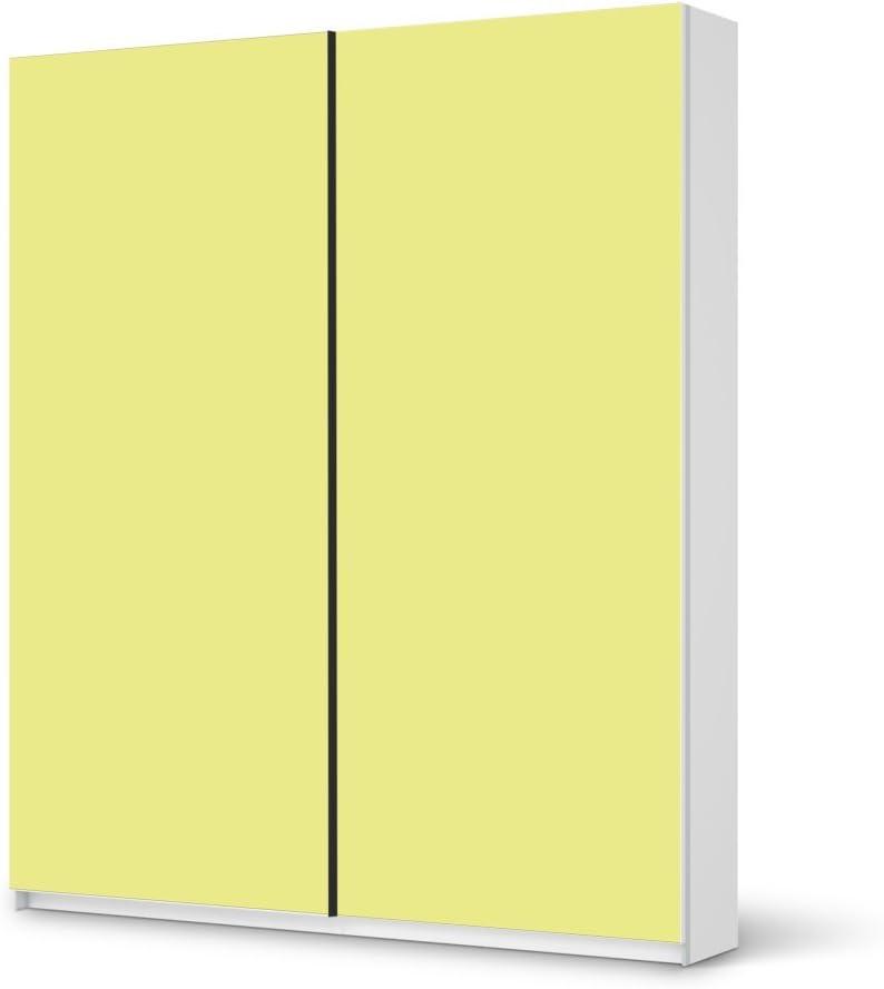 Papel de muebles para armario IKEA PAX 236 cm Altura - puerta corrediza | Pegatinas de muebles personalizados adhesivo-Papel de aluminio muebles embellecer | Home Sweet Home sala de estar-muebles ideas muebles