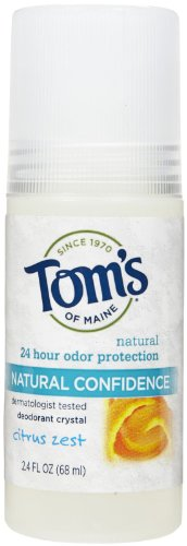 Tom's of Maine Natural Confidence Roll On Deodorant, Citr...