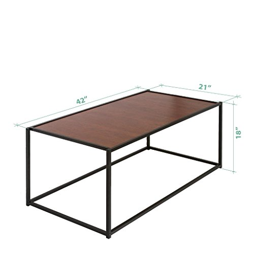Zinus modern studio collection classic rectangular coffee for Buy modern coffee table