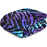 Printed Plush Polyetser Blanket Collection, Twin/full