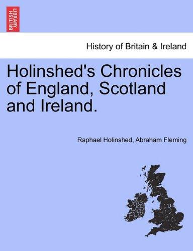Download Holinshed's Chronicles of England, Scotland and Ireland. Vol. V pdf epub