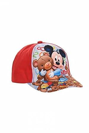 Disney Gorra Visera Mickey (Rojo, 50): Amazon.es: Deportes y aire ...