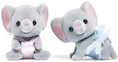 칼리코 크리터 엘우드의 코끼리 쌍둥이 (수입) / Calico Critters Ellwood`s Elephant Twins (import)