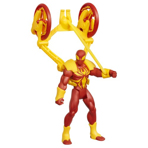Iron Spider-Man with Web Catapult -