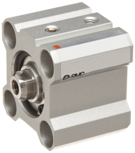 SMC-CQ2-Series-Aluminum-Air-Cylinder-Compact-Single-Acting-Through-Hole-Mounting-Not-Switch-Ready-No-Cushion