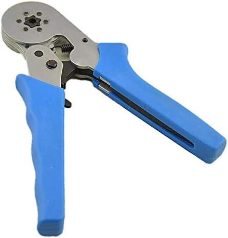 YKJ-YKJ 圧着工具自己調節可能なラチェットフェルールワイヤークリンパープライヤー8 6-60.25-6.0mm²ハードウェアツールキット ペンチ