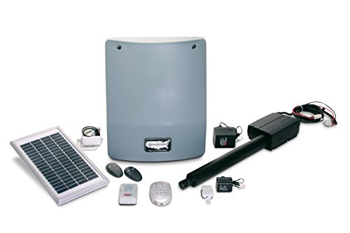 USAutomatic 020346 Sentry 300 Solar Deluxe Single with Metal Keypad by US Automatic