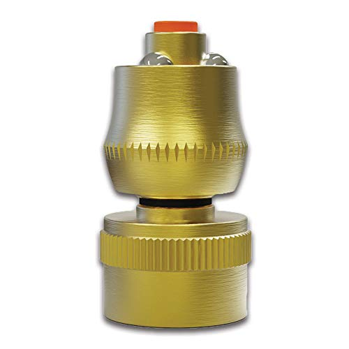 TITAN Brass Garden Hose Jet Nozzle Super Shot Watering Sprayer -