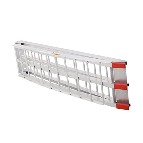 7.5' Heavy Duty Aluminum Motorcycle Bike Ramp Arched Foldable Loading Ramps New by Unknown (Image #3)