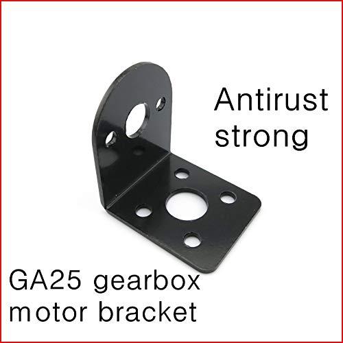 Ochoos 2PCS GA25 Gearbox Gear Motor Bracket,Motor Fixed seat,Small car Fixed Metal stents,Patrol car