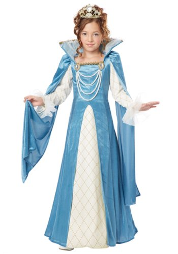 California Costumes Renaissance Queen Child Costume, Large (Renaissance Halloween Costume)