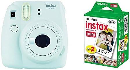 Fujifilm Instax Mini 9 - Cámara instantánea, Cámara con 2x10 películas, Blanco: Amazon.es: Electrónica