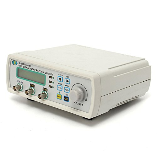 MHS-5200A 25MHz Digital DDS Dual-channel Signal Generator Source Frequency Meter 13N2