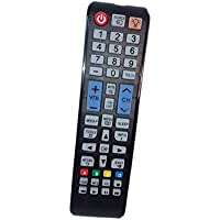 Replaced Remote Control Compatible for Samsung PN43E450A1F LT22B350ND/ZA PN43F4500AFXZA UN22F5000AF UN40EH5000F UN50EH5000F LED HDTV PLASMA TV