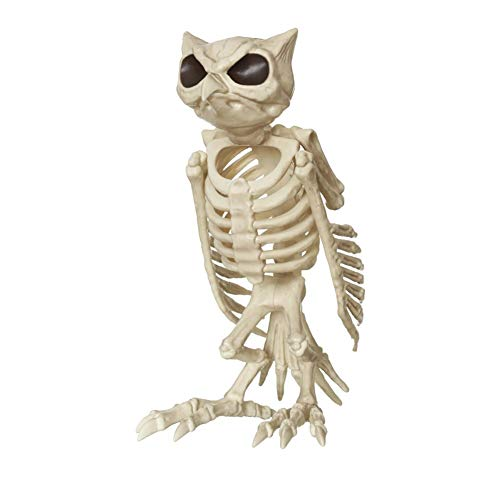LCMJ WS Vintage Halloween Decoration Scary Fish Skeleton Spoof Interesting -