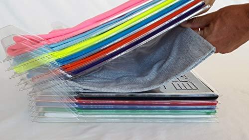 ezstax Clothing sistema de organización, Transparente, 20
