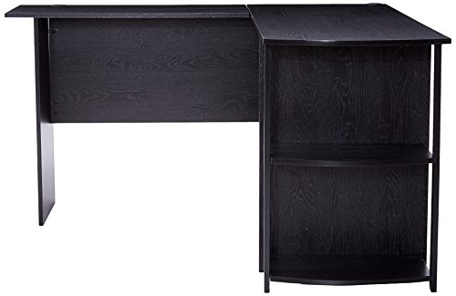 41e8eOrli2L - Altra Dakota L-Shaped Desk with Bookshelves
