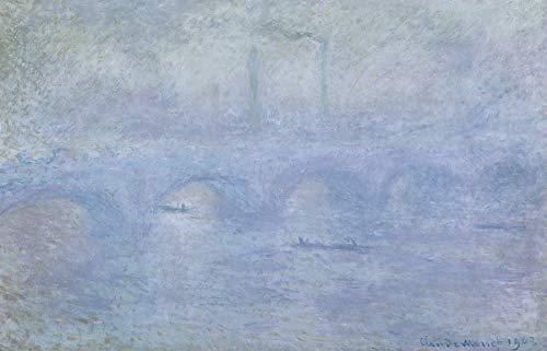 - Claude Monet Waterloo Bridge: Effect of The Mist 30