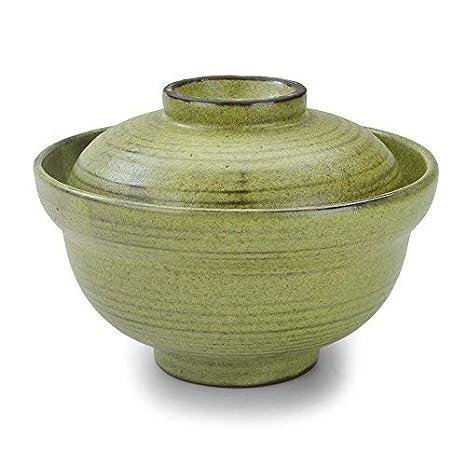 f8dfa043832 Amazon.com | SANFEN Japanese Vintage Ceramic Bowls with Lids, 6.25