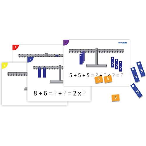 Amazon.com: Miniland Math Balance Activity Pack: Toys & Games
