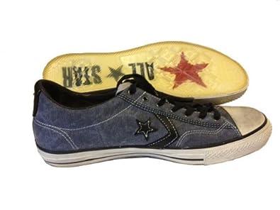 57e5ce37d02a26 Amazon.com  Converse John Varvatos Star Player denim blue and navy  Shoes