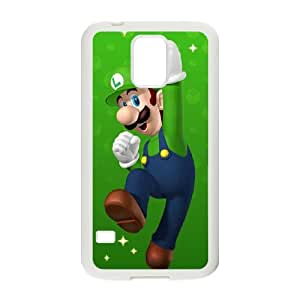 Samsung Galaxy S5 Cell Phone Case White Super Mario Bros FMG Smartphone Cases