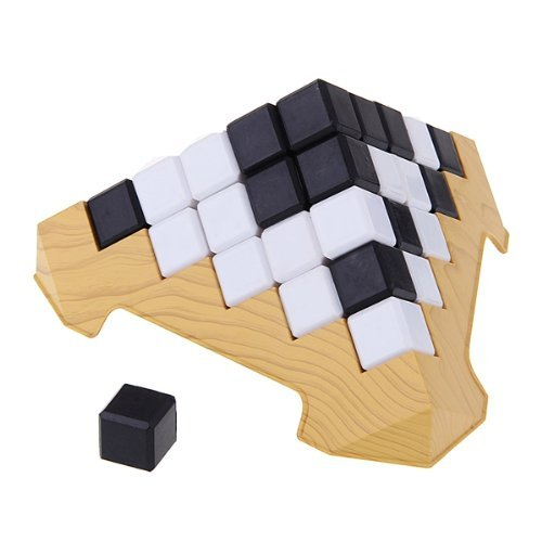 Dimart Educational Toy Pyramids Building Game Block Cube Children Kid Learning Gift