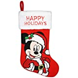 "20"" Mickey Mouse Holiday Stocking"