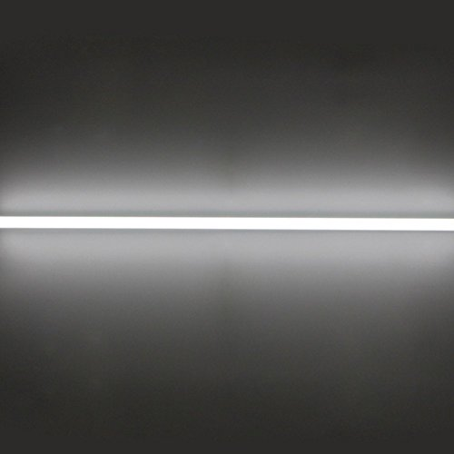 CNSUNWAY LIGHTING 8ft LED Tube, 96'' 45Watt T8 FA8 Single Pin LED Bulbs With Frosted Cover, 4800LM Super Bright 6000K Cool White (25 Pieces) by CNSUNWAY LIGHTING (Image #6)