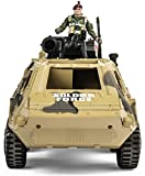 Memtes Military Fighter Army Truck Tank Toy, Mini
