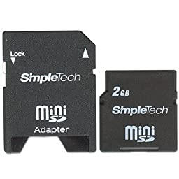 Simpletech 2gb Mini Sd Card