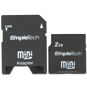 Simpletech 2gb Mini Sd Card