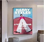 KONGQTE Harry Styles 2020 Album Art Print Canvas Poster Wall Art Poster Canvas Painting Home Decor Picture Can