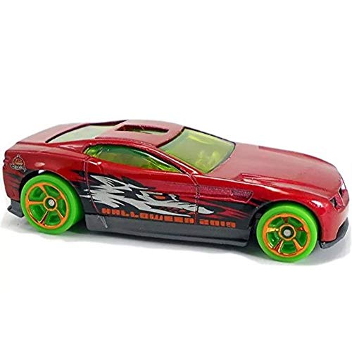 Hot Wheels Halloween 2019 Die-Cast Metal Vehicle Series 2/6 GBC56 Torque Screw - Red Sports Car with Wolf on The Side