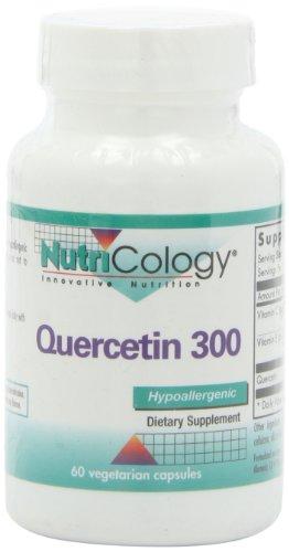 Nutricology Quercetin 300, Vegicaps, 60-Count