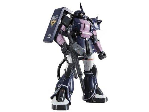 MG 1 100 MS-06S schwarz Triple Star Zaku II ver.2.0 (Gundam Plastic Kit)