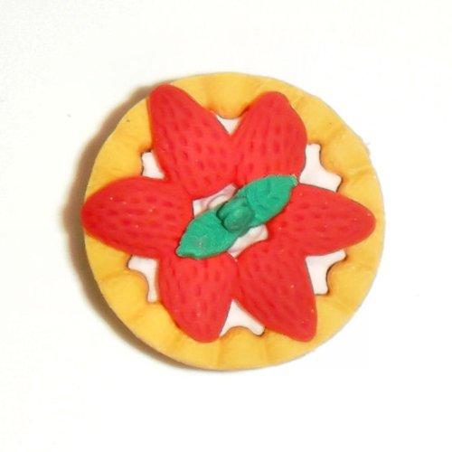 Strawberry Tart Eraser - 3D Novelty Rubber Generic