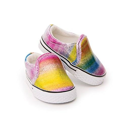 - Maplelea Northern Lights Shoes for 18 Inch Dolls