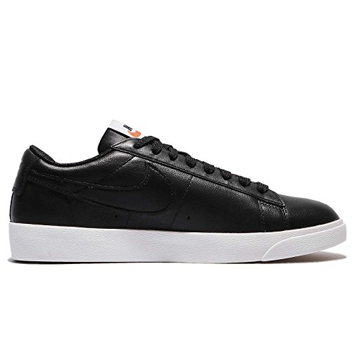 Nike blazer low w le–Chaussures Sportives, femme, noir–(Black/black-white-gum Light Brown)