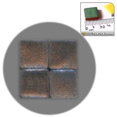 Mosaic-Minis(25/64 inch) (10x10x3mm), 250 pieces, Copper, WMS1
