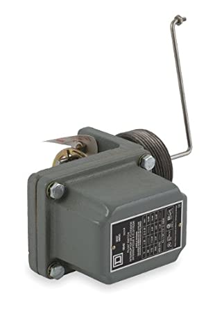 Square D 9037 Closed-Tank Float Switch with Bushing for Power Circuit, Side Mount