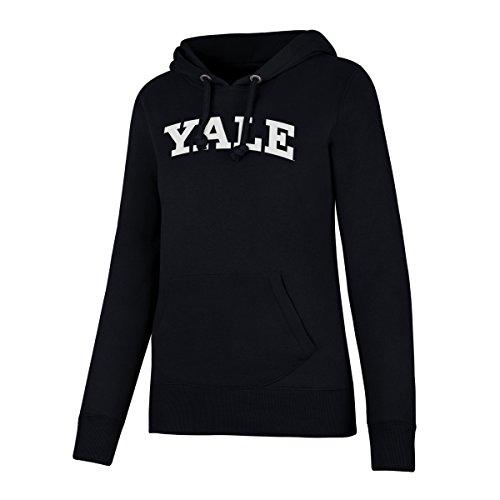 NCAA Yale Bulldogs Women's Ots Fleece Hoodie, X-Large, Fall Navy
