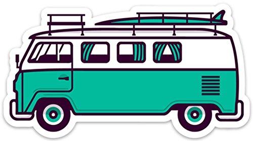 (VW Surf Van Bus Sticker Decal 5