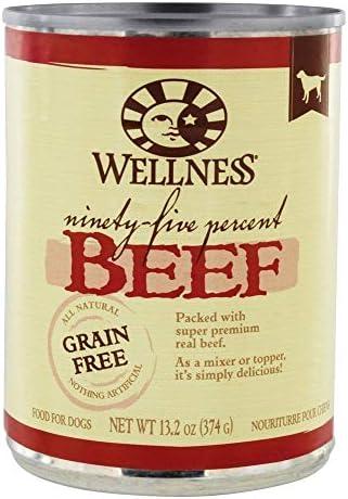 Wellness, Dog Food Beef 95, 13.2 Ounce