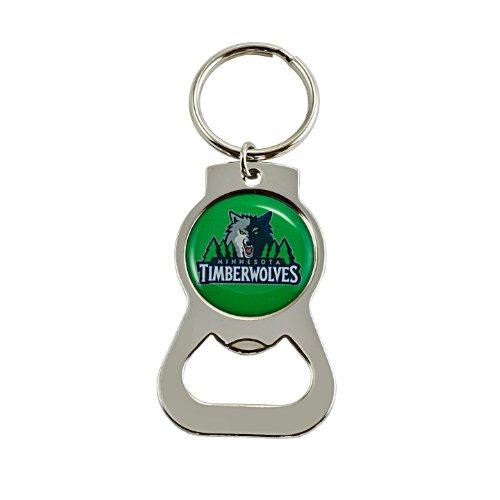 fan products of NBA Minnesota Timberwolves Bottle Opener Key Ring