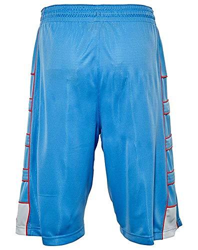 Jordan Nike Jumpman Boys' Game Changer Athletic Dri-Fit Mesh Shorts (Large, University Blue)